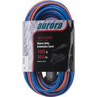Triple Tap All-Weather TPE-Rubber Extension Cords with Light Indicator XH237 | Stor-it Systems