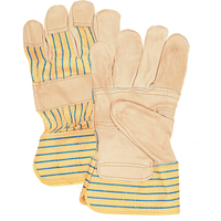 Grain Cowhide Fitters Patch Palm Gloves SAJ497 | Stor-it Systems